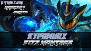 download lagu Fizz Montage  1,4 Million Mastery Points  Fizz gratis