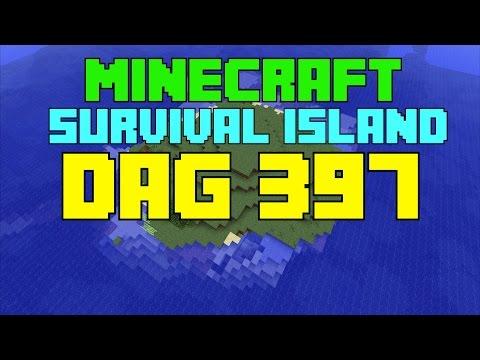 Minecraft Survival island - Dag 397 ''Naar het tropische eiland!''