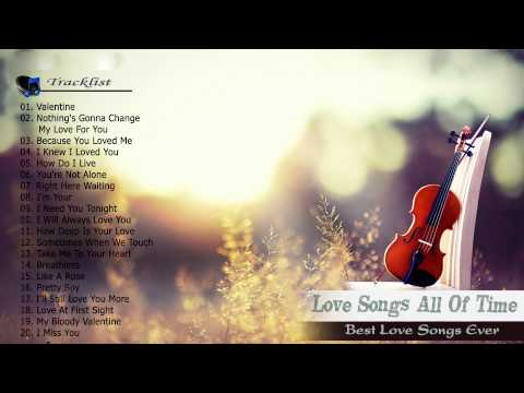 Top 100 romantic love songs of all time Playlist - Best Love songs 80's 80's collection.