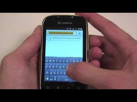 Vodafone Smart II handson