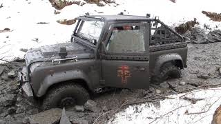 Off-Road 4x4 Adventure 4WD Land Rover Defender
