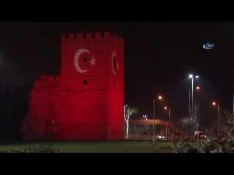 Türk Bayrağı Tarihle Buluştu