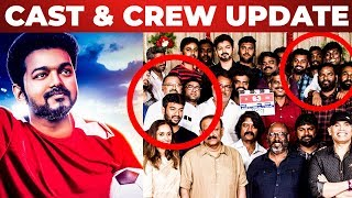 EXCLUSIVE : THALAPATHY 63 Full Cast & Crew Details