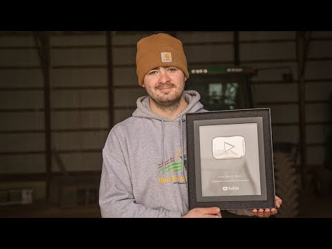 100K Play Button Award Unboxing