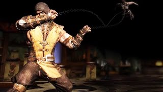 Mortal Kombat X - Inferno Scorpion Super Attack Moves [iPad/Android]