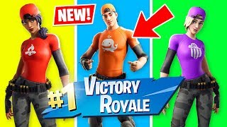 New CUSTOM SKINS and ARENA TRIOS!! (Fortnite Battle Royale)