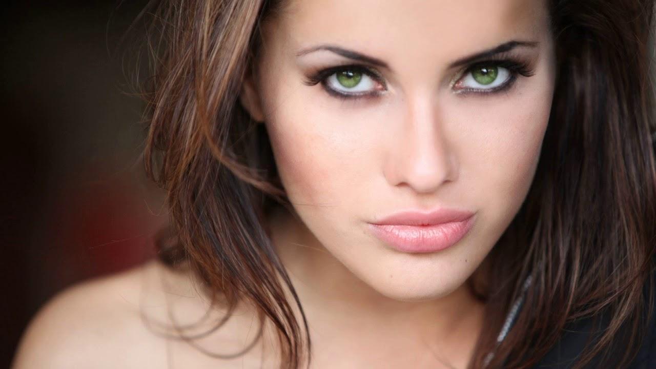 Макияж брюнетка серые глаза фото