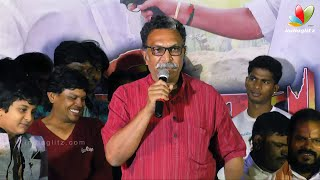 I can not act as good as Mansoor Ali Khan - Nasser | Athiradi Movie Audio Launch
