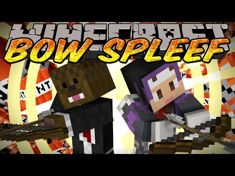 Minecraft Mini-Game Bow Spleef w/ Jerome