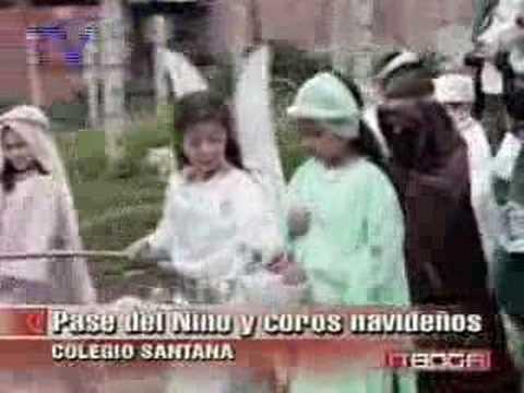 Pase del niño  en el colegio Santana
