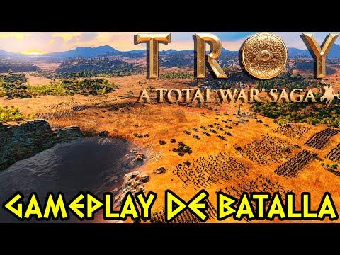 Total War Saga: TROYA | BATALLA LEGENDARIA - Aquiles vs Héctor en el NUEVO Total War !