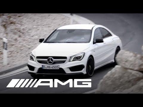 CLA 45 AMG Trailer