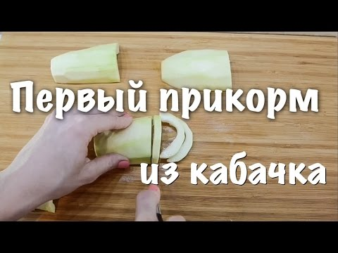Первый прикорм ребенка из кабачка. Пюре из кабачка. Zucchini Baby Food 6 Month