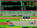 Konami's Track & Field arcade gameplay