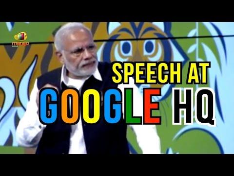 PM Narendra Modi Speech At Google Alphabet Campus   Modi US Tour   Mango News