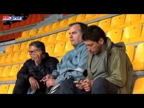 Football / MHSC - OM : les premières images de Bielsa en France - 11/04