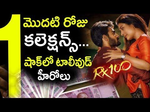 RX 100 Movie 1st Day Box Office Collections | Kartikeya | Payal Rajput | Tollywood Nagar