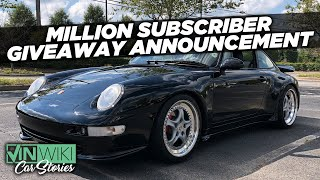 Here's how you can win Ed's Porsche 993