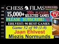 Chess Ehlvest 90 Best Games 52 Of 90 Jaan Ehlvest Vs Miezis Normunds mp3