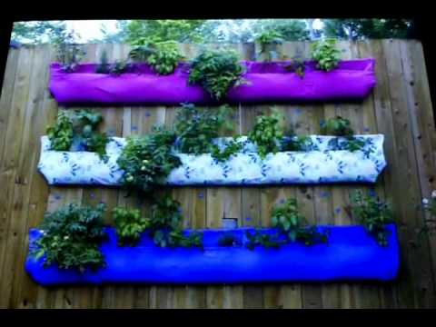 Woolly Pockets - vertical gardening
