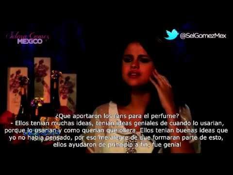 Selena Gomez habla sobre su perfume y la