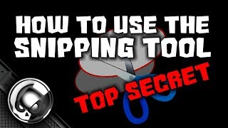 Snipping Tool - Windows 10 best kept secret trick