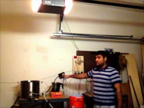 RIMS Electric All Grain Home Brewing using Arduino Part 1