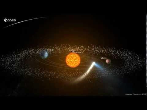 CNES - Passage d'une comète dans le système solaire - Armédias concept