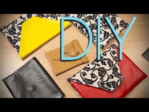 DIY Apple Macbook Pro & Laptop Accessory Clutch Case {How to}