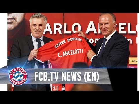 Carlo Ancelotti's First Day at FC Bayern