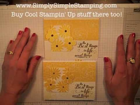 Simply Simple FLASH CARDS 2.0 - Secret Garden Sunshine Card by Connie Stewart