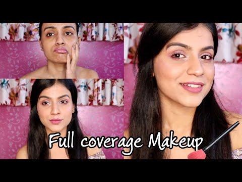 PASTEL PINK MAKEUP TUTORIAL | FULL COVERAGE PINK MAKEUP | Soft Pink Makeup for Spring/Summer