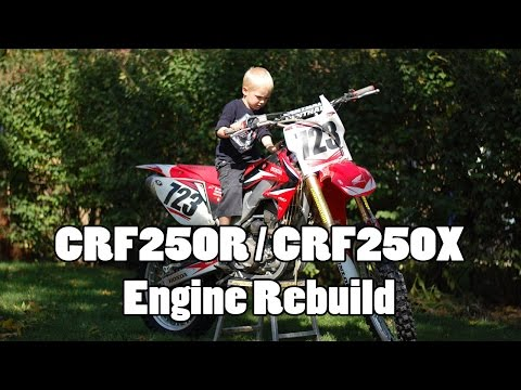 CRF250R Engine Rebuild - Bottom End - Part 1 of 4
