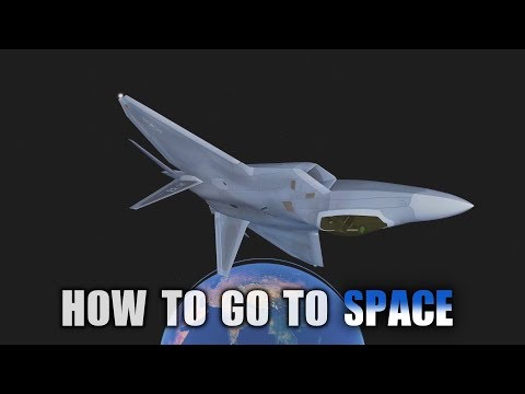 Infinite Flight Global - How To Get In Space [HD]