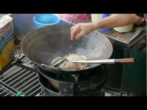 Char Kway Teow, cooked by a hawker on Mundri St, Georgetown Penang