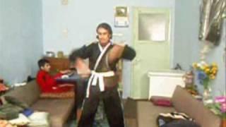 turkish nunchaku kungfu show.türk nunçaku kungfu gösterisi