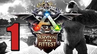 Ark Survival of the Fittest #1 MÖGEN DIE SPIELE BEGINNEN! [Gameplay German | Let