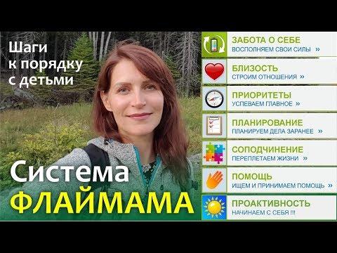 Система ФЛАЙМАМА    Шаги к порядку с детьми    Как больше успевать с детьми - Света Гончарова