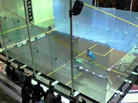 MONTREAL: The PSA Montreal Squash Open in the Montreal Forum October 20 - 26, 2014. G