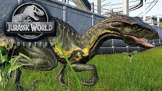 Jurassic World Evolution Gameplay German #26 - Indoraptor DLC
