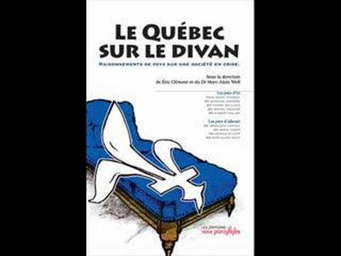 Le qu bec sur le divan pierre mailloux etc youtube for Divan quebec