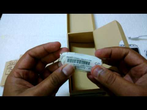 Samsung Galaxy S4 White Unboxing (Octa Core Processor)