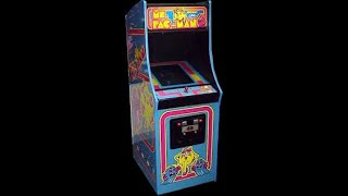 Playing Ms. Pac-Man at the laundromat