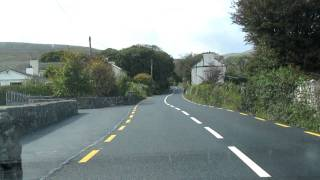 Driving from Gort to Sligo, Ireland
