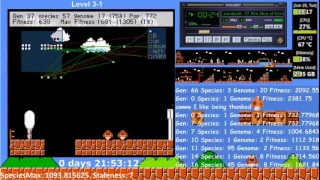 LuigI/O - Teaching an AI to play Super Mario Bros