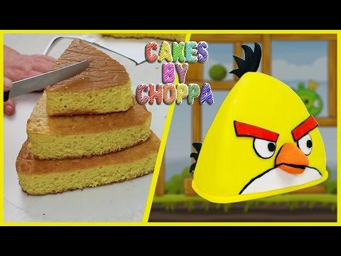 Yellow Angry Bird Cake