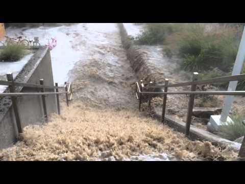 July 15, 2014 Rexburg, ID flood at BYU-Idaho (part 1)