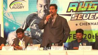 Asian Rugby 7s Series 2016 Press Conference