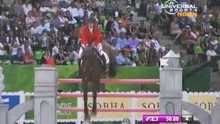 American Madden 3rd In Jumping Final At Equestrian Games - Universal Sports