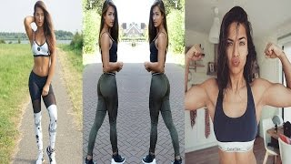 Nochtli Peralta Alvarez - Spanish Sexy Fitness Model / Full workout & All Exercises